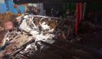 मस्जिदमध्ये इमारतीचा स्लॅब कोसळला