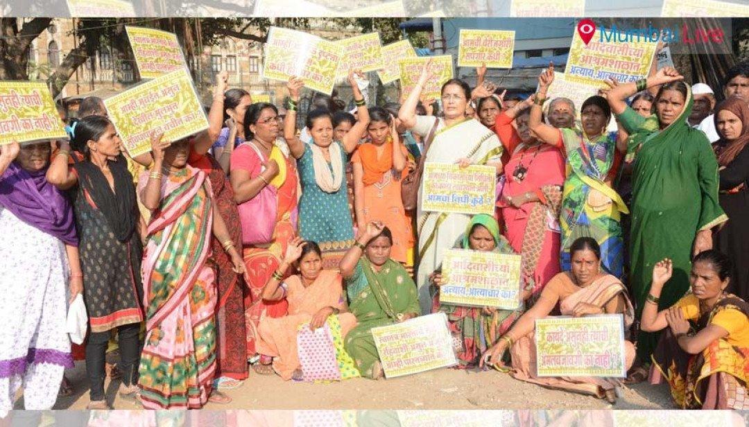Vidya Chavan lashes at govt for rape in Ashramshala