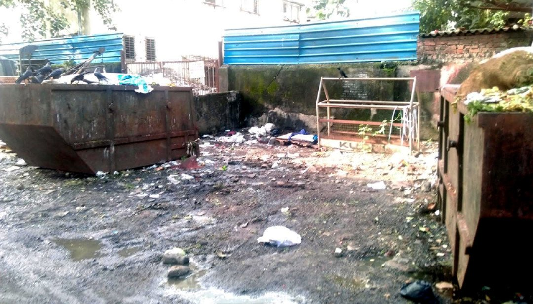 Tonnes of Garbage stored at Byculla