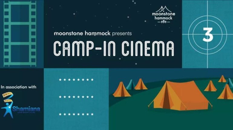 A 'Camp-in Cinema night' is just what you need for a perfect weekend getaway