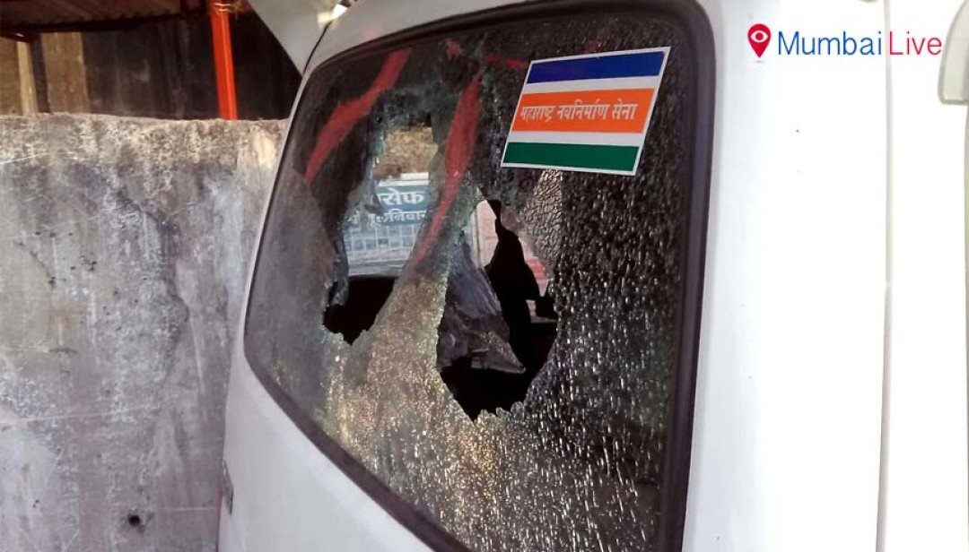 Unknown goons attack MNS dignitary's car