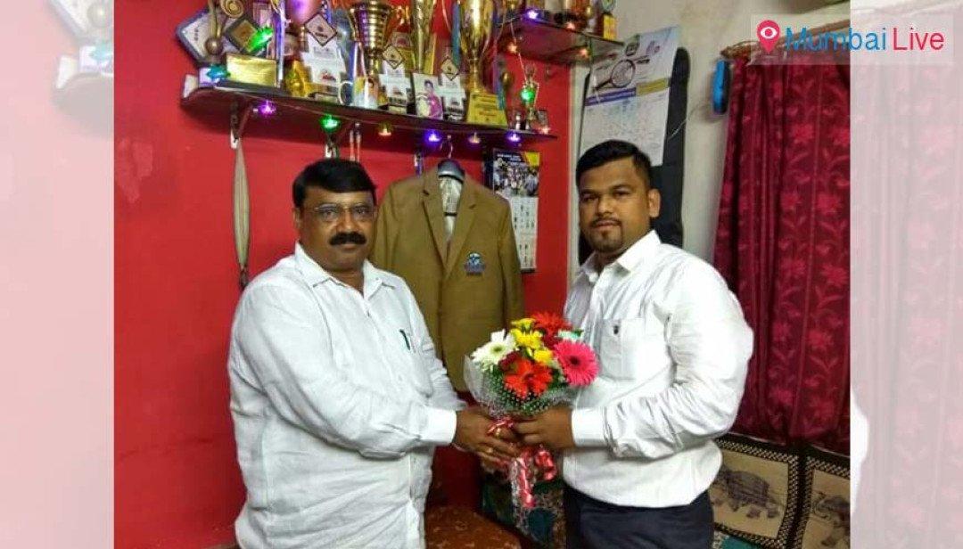 BJP felicitates carrom champ