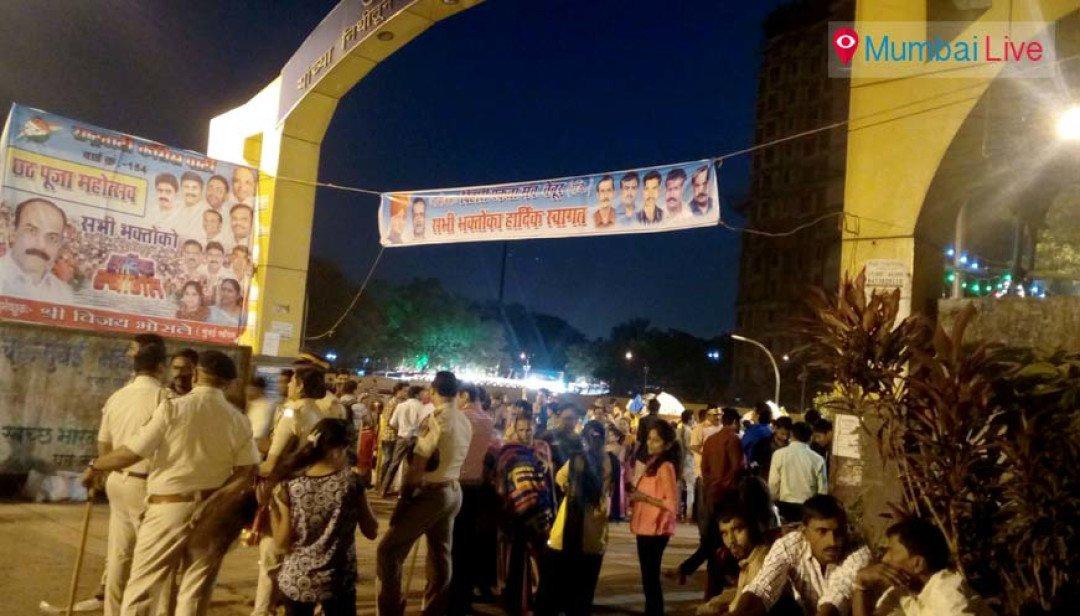 Chhath Puja amidst police bandobast