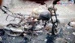 चेंबूर में 6 बाइक जलकर खाक