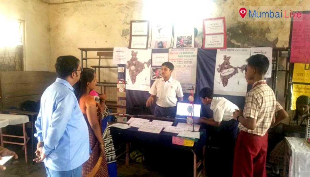 Science exhibition at Chembur High School