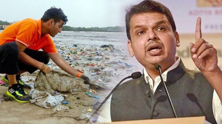 CM backs Afroz Shah over Versova beach clean-up and will draft a policy for beach cleaning