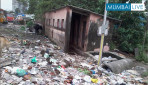 Public toilet turns Dumping area