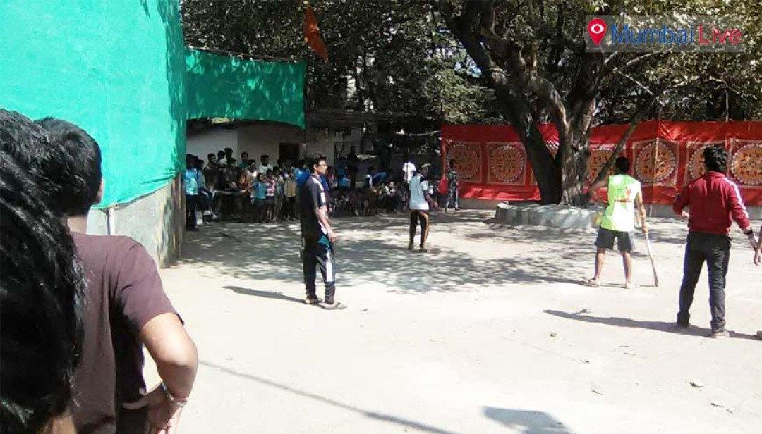 क्रिकेट स्पर्धा का आयोजन