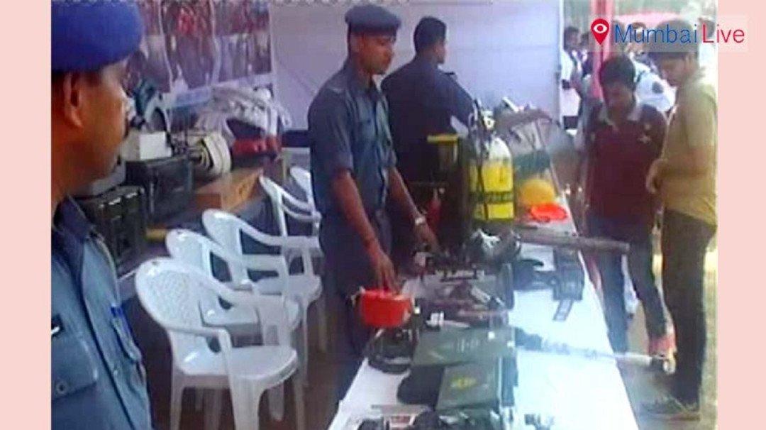 पुलिस और आम जनता के लिए खास प्रदर्शनी