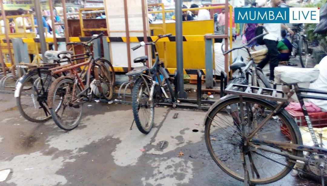 Cycle Parking near Jogeshwari