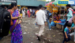 Troublesome at Dadar flower market