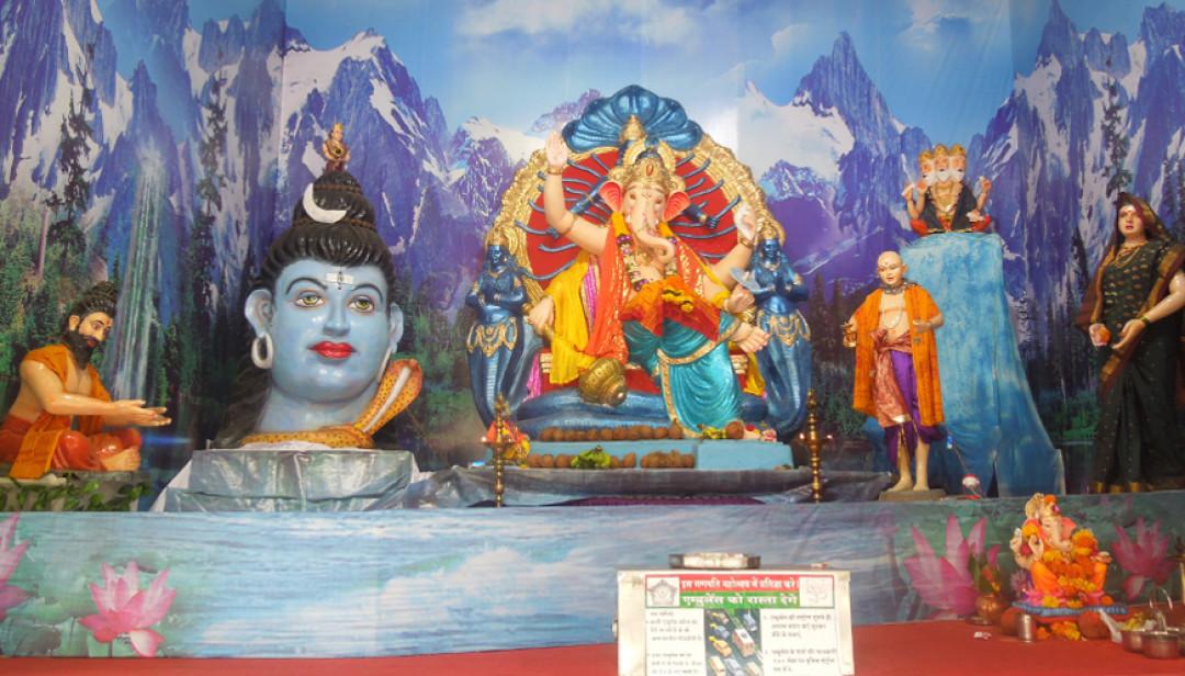 Jakhadevi Temple celebrates Ganesha Chaturthi