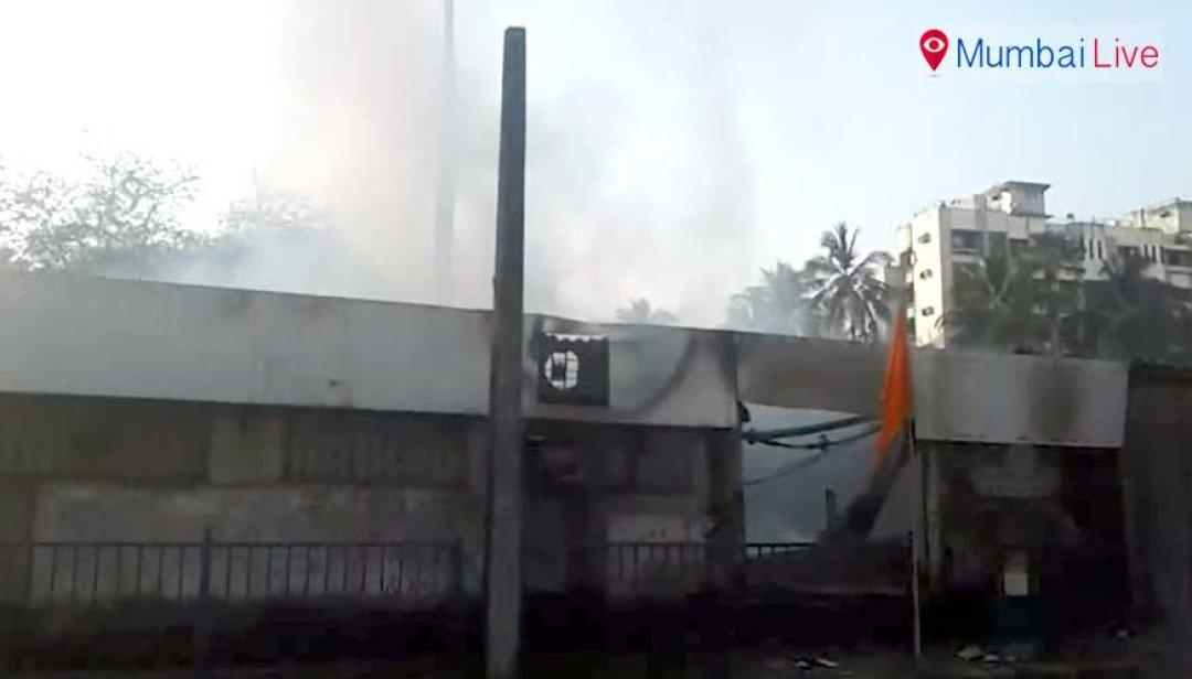 Fire at Kanderpada