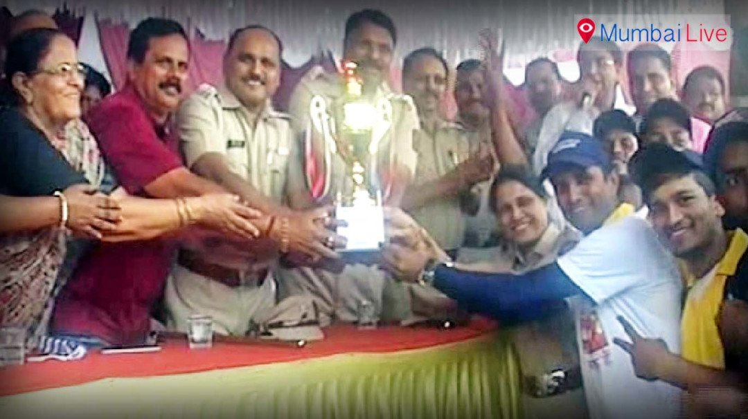 Dahisar police wins cricket tournament