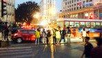 जागरूकता अभियान के तहत छात्रों ने किया ट्रैफिक कंट्रोल