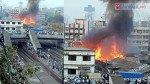 मस्जिद बंदर आग में छह बच्चे घायल