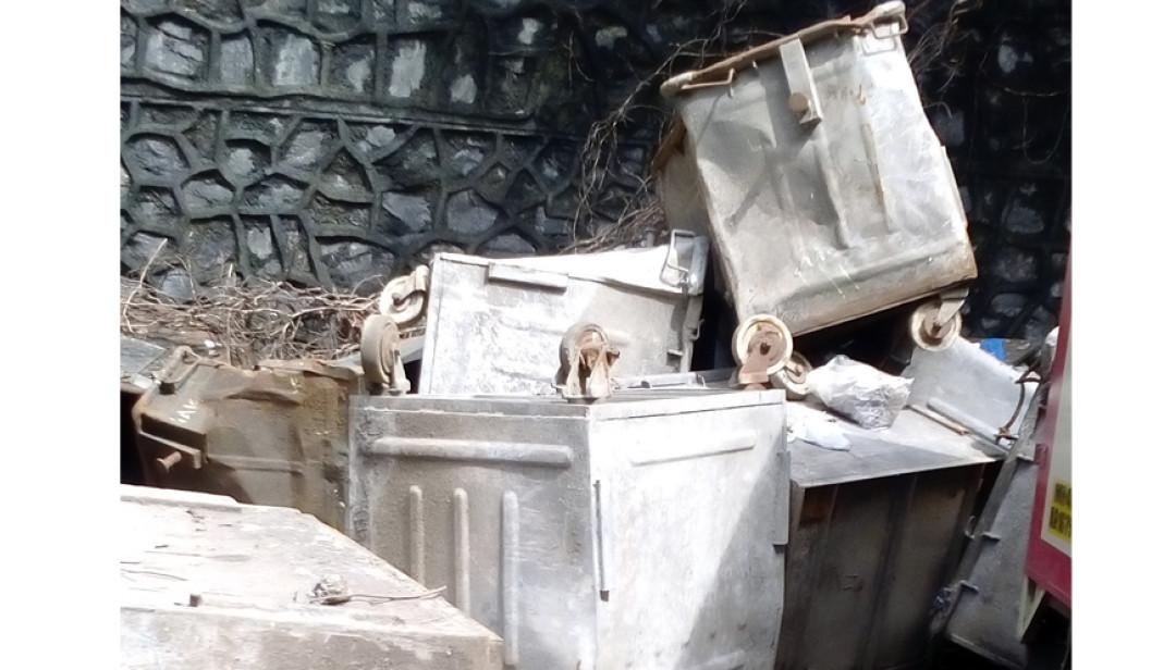 पालिकेला पडलाय स्वच्छतेचा विसर