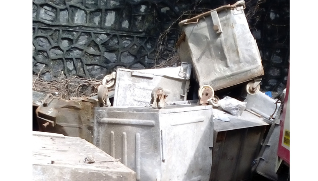 Heap of Waste in Santacruz