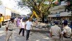 BMC demolishes shanties