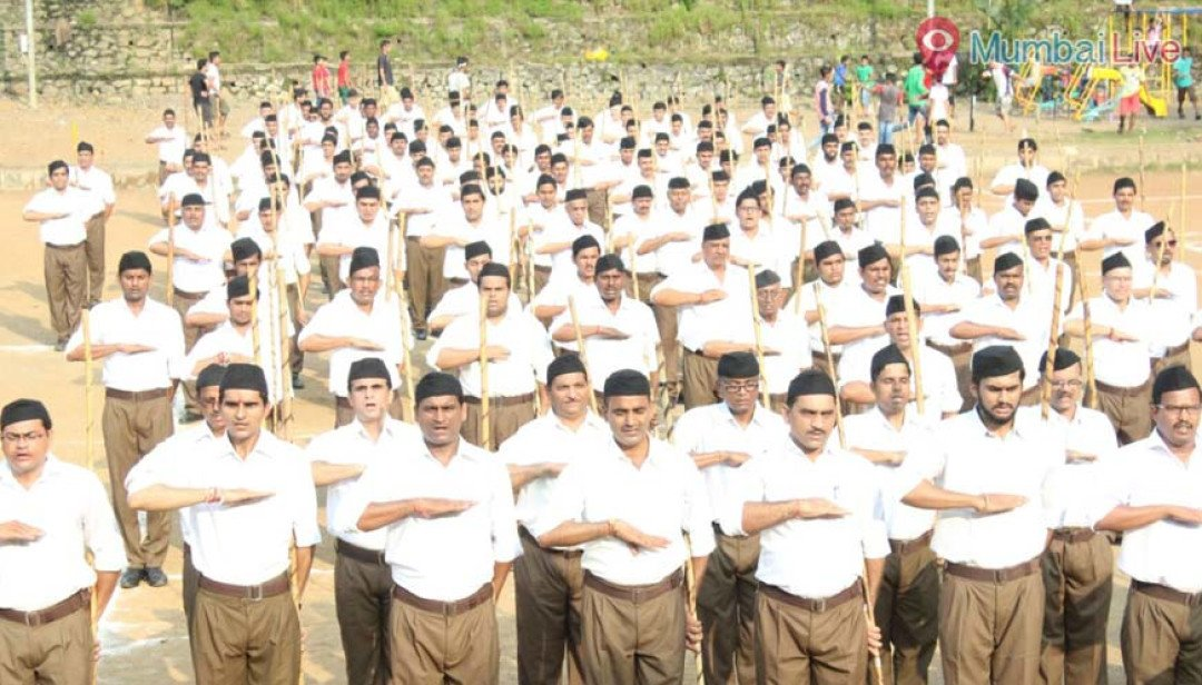 RSS Dussehra rally