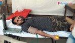 रक्तदान शिबिराचं आयोजन