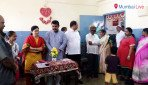 Coprorator distributes school items