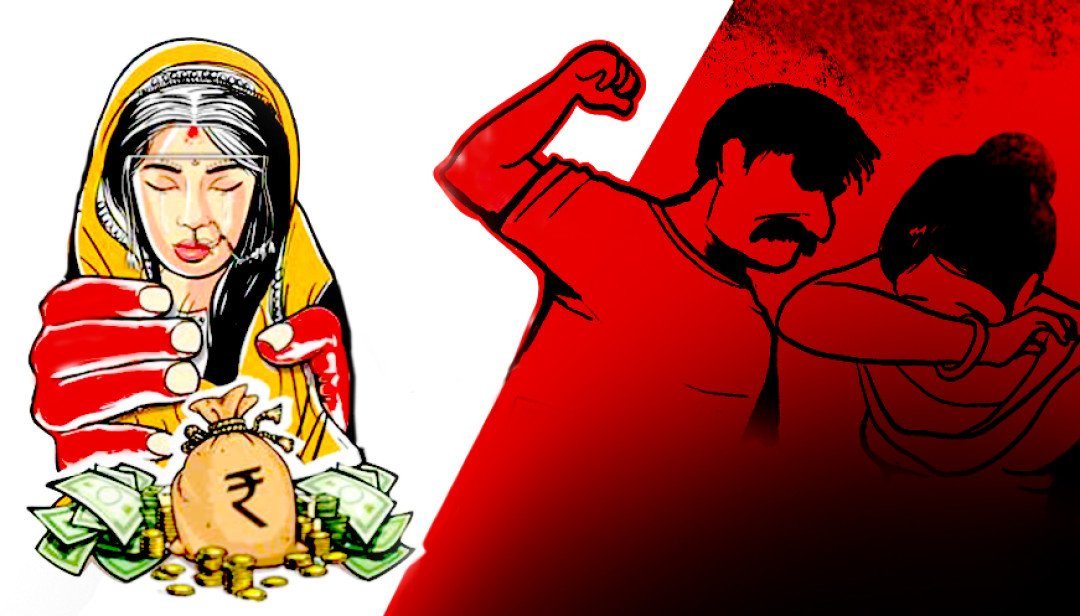 Women murdered for dowry