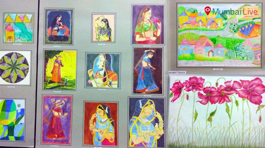 Painting exhibition at Savarkar Smarak Hall in Dadar