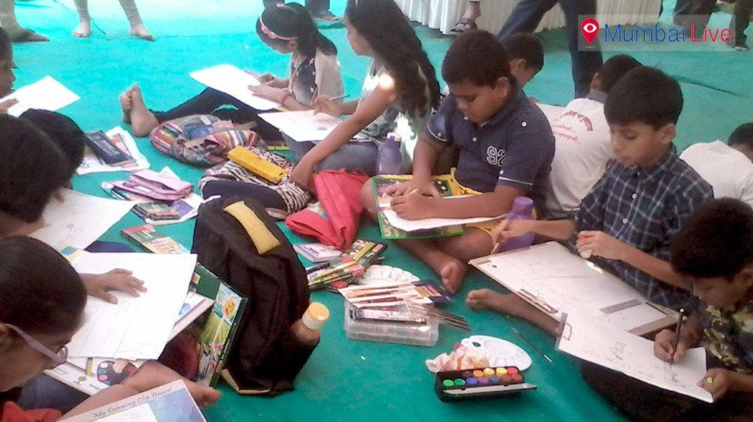 घाटकोपरमध्ये बालकुमार चित्रकला स्पर्धेचे आयोजन