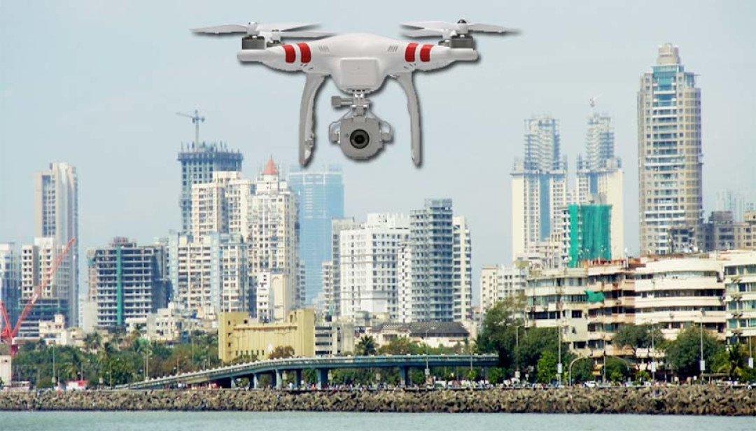 Mumbai Police eyeing drone!