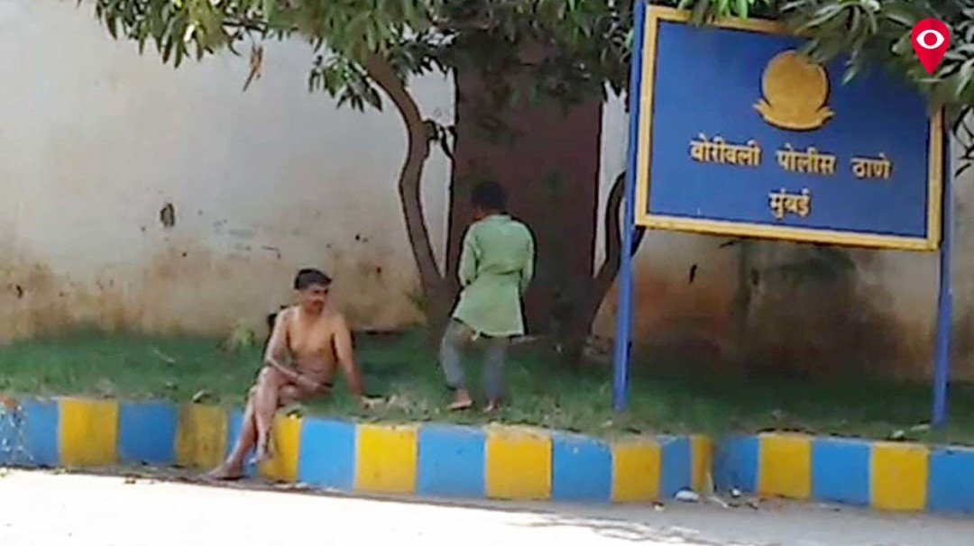 Drunk strips in police station, police cold shoulder him