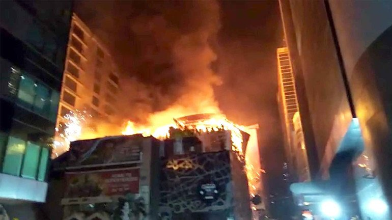 BMC submits its report on Kamala Mills fire; Recommends imposing a heavy penalty on the builder