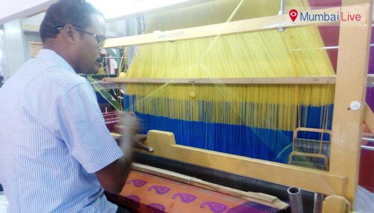 कपड़ा मशीनों की प्रदर्शनी