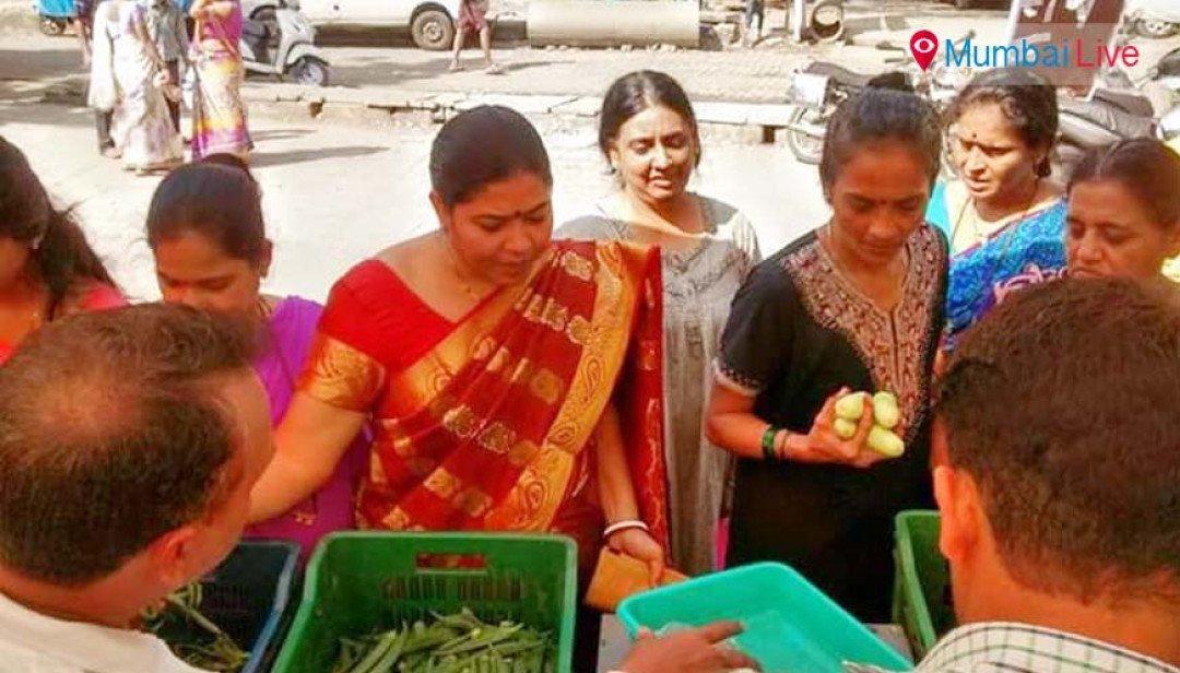 Farmers market in Andheri