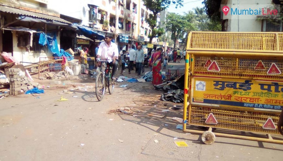 BMC cracks down on illegal hawkers