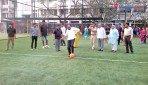 चेंबूर में फुटबाॅल कोर्ट का उद्घाटन