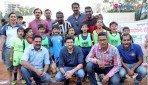 'सिक्स अ साईड' फुटबॉल रिंगचं उद् घाटन