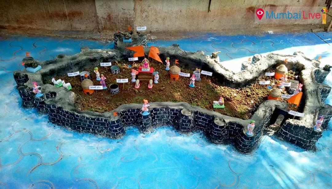 Malad gets Sindhudurg fort replica for Diwali
