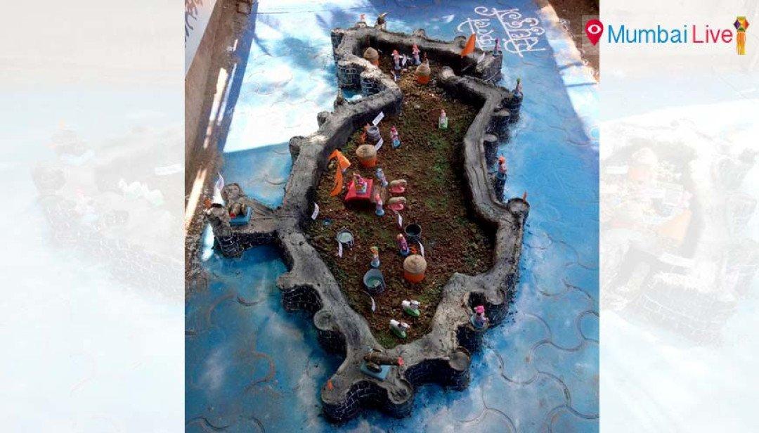 Malad gets Sindhudurg fort replica for Diwali