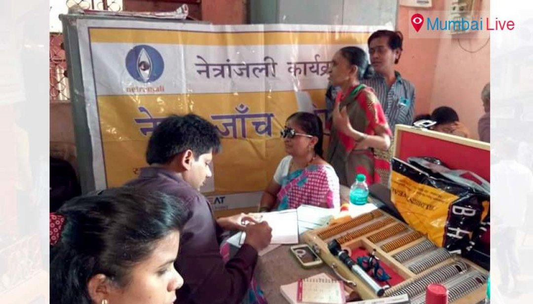 Eye care camp receives overwhelming response