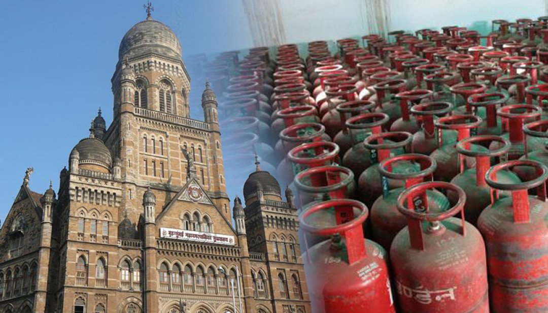 BMC seizes 2950 gas cylinders