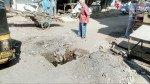 गोवंडीत रस्ता गेला 'खड्ड्यात'