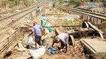 Track maintenance work still on at GTB Nagar station