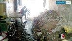 Garbage mess at Mehta Building