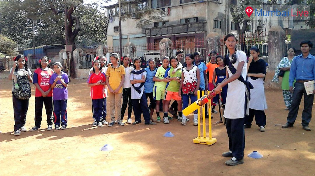Inter-school Cricket match for girl students
