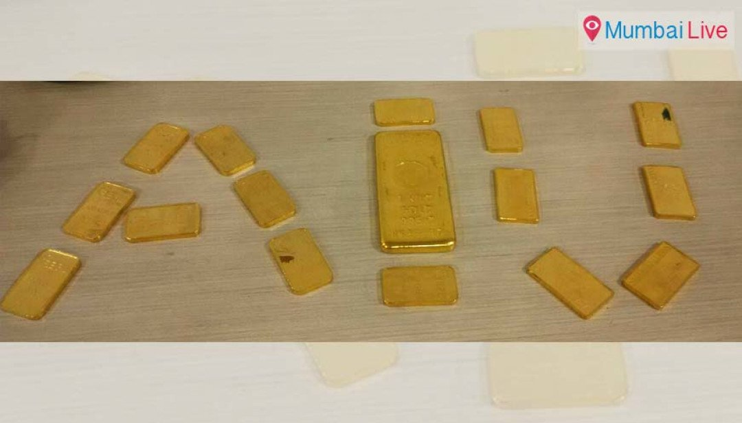 2.5 kg gold seized at airport