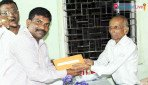 Post office employees celebrate Diwali with gold coins