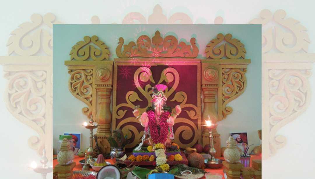 Worli's Unique Bappa