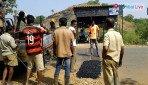 Corporator repairs the Gorai road