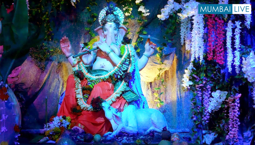 Goregaon's Eco-friendly Bappa
